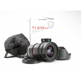 Samyang UMC 1,5/24 ED AS IF Sony E-Mount (Cine Lens) (229908)