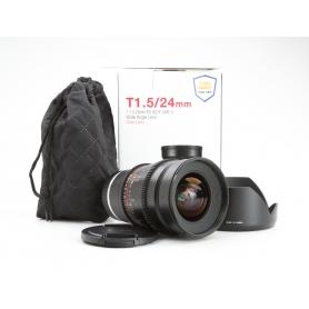 Samyang UMC 1,5/24 ED AS IF Sony E-Mount (Cine Lens) (229909)