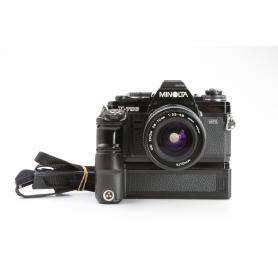 Minolta X-700 MPS + Motor Drive 1 + Minolta MD ZOOM 28-70 3,5-4,8 Objektiv (229973)