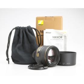 Nikon AF-S 1,4/85 G N (230037)