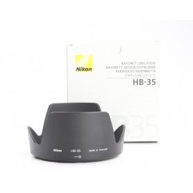 Nikon Geli Gegenlichtblende Blende HB-35 Lens Hood (217492)