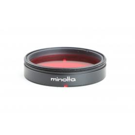 Minolta 35 mm Filter R 60 Kontrastfilter E-35 Rot (230175)