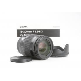 Sigma DC 3,5-6,3/18-200 Macro Contemporary PK/AF (230226)