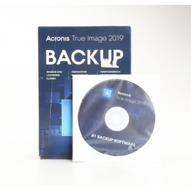 Acronis True Image 2019 Software Betriebssystem Datensicherung Backup Vollversion PC Mac deutsch Windows (230321)