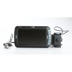 Caliber Audio Technology Funk-Rückfahrvideosystem 2 Kamera-Eingänge, Automatischer Weißabgleich, Blende F2.0 (230458)