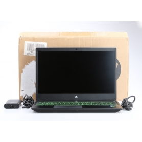 HP Pavilion 15-cx0004ng 15,6 Notebook Core i7 8750H 2,2GHz 16GB RAM 256GB SSD 1TB HDD Nvidia GeForce Windows 10 schwarz (230409)