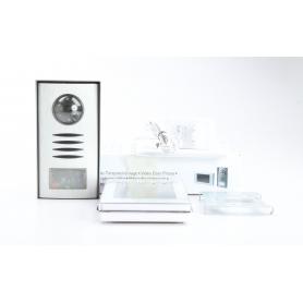 Renkforce 1275881 Video-Türsprechanlage Kabelgebunden Komplett-Set 1 Familienhaus Silber (230437)