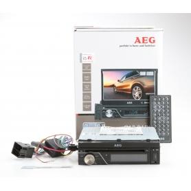 AEG Autoradio AR 4026 7-Zoll-Monitor LCD/DVD/BT/USB DVD-Player Touchscreen (230446)