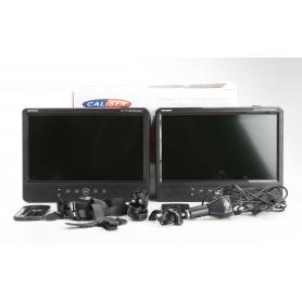 Caliber Audio Technology MPD-2010T Kopfstützen DVD-Player mit 2 Monitoren Bilddiagonale=25.4 cm (10 Zoll) (230452)