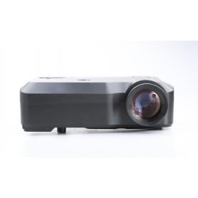 RAGU RG-01 Beamer Projektor LED 3000 Lumen 1000:1 USB HDMI VGA SD AV schwarz (230498)