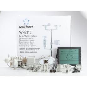 Renkforce WH2300 WH2315 Funk-Wetterstation Vorhersage für 12 bis 24 Stunden (230502)