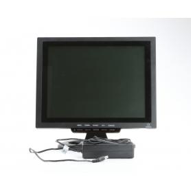 Renkforce 449238 12 LCD-Überwachungsmonitor 800x600 Pixel HDMI VGA Cinch schwarz (230506)