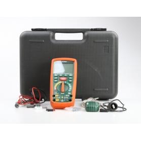 Extech MG302 Hand-TrueRMS-Digital-Multimeter 50-1000Hz wasserdicht 10A AC/DC 50Hz-1kHz grün orange (230507)