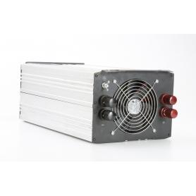 E-ast HPL 3000-12 Wechselrichter 3000W 12V/DC 230V/AC HighPower Überspannungsabschaltung Silber Schwarz (230537)