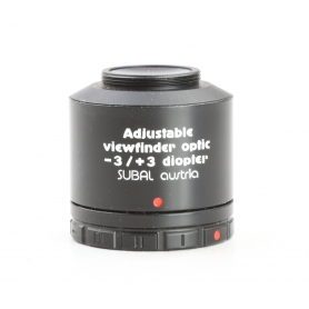 Subal Austria Winkelsucher Angle Adjustable Viewfinder -3 / +3 diopter (230574)