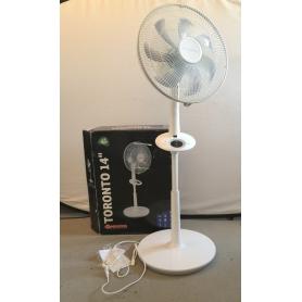 Sonnenkönig Toronto Stand-Ventilator Timer Oszillation 35W 35dB weiß 805980 (230535)