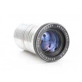 Kodak Anastigmat 100mm 3,5 Angenieux Projektionsobjektiv Projector Projection Camera Lens (230644)