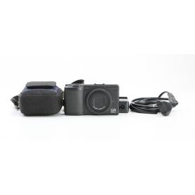Ricoh GR Digital III Digitale Kompaktkamera 10 Megapixel (230726)