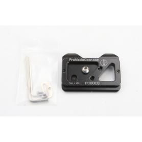 ProMediaGear PCBGE6 Schnellkupplungsplatte Quick Release Plate Stativ Platte (230695)