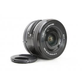 Sony E PZ 3,5-5,6/16-50 OSS Schwarz E-Mount (230705)