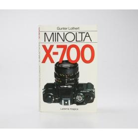 Minolta Minolta X-700 / Gunter Lothert / Laterna Magica / Buch (230711)