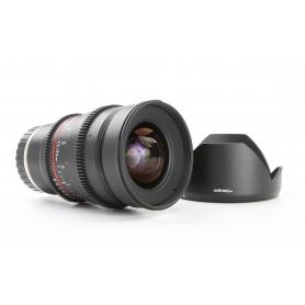 Walimex UMC 1,5/24 ED AS IF Sony E-Mount (Cine Lens) (230761)