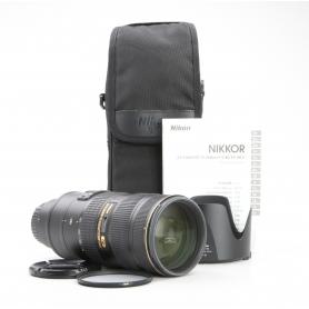 Nikon AF-S 2,8/70-200 G IF ED VR II (230774)