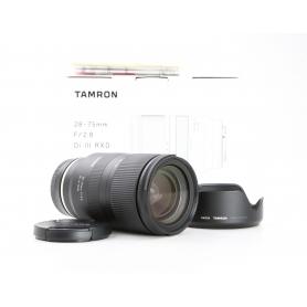 Tamron RXD 2,8/28-75 IF DI III für Sony E-Mount (230804)