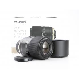 Tamron SP 2,8/90 Makro DI VC USD (F017) Ni/AF (230858)