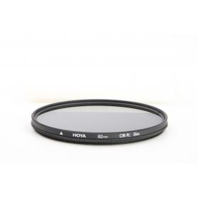 Hoya 82 mm Polfilter Zirkular CIR PL Slim E-82 (216242)