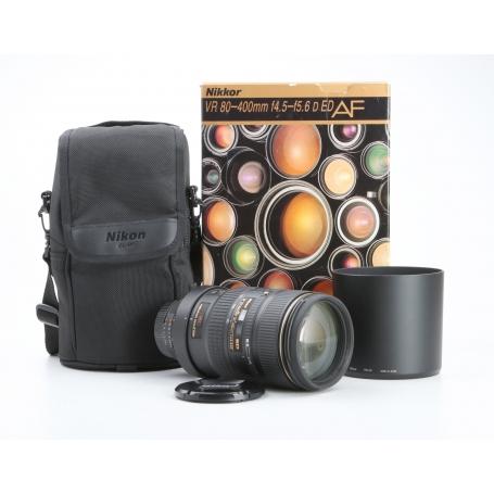 Nikon AF 4,5-5,6/80-400 VR ED D (231149)
