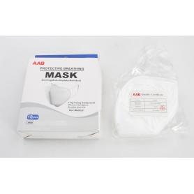 AAB 10 Stück KN95 Mund-Nasen-Schutz Feinstaubmaske Mundschutzmaske GB2626-2006 (231113)